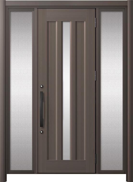 リシェントⅢ アルミ仕様 C12N型 両袖タイプ オータムブラウン(アルミ調)