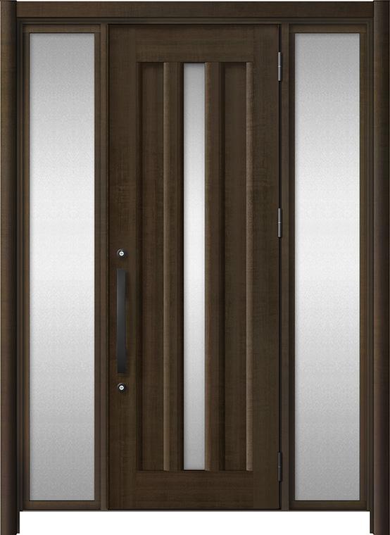 リシェントⅢ アルミ仕様 C12N型 両袖タイプ 柿渋調(木目調)